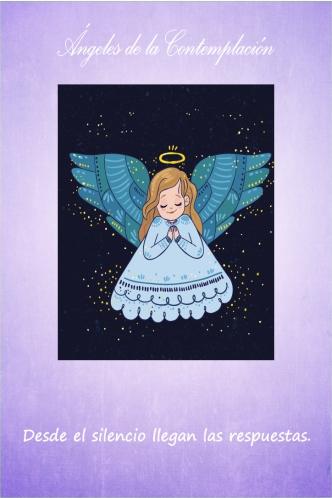 ángeles de la contemplación www.jamaraturana.com